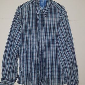 aad7e6f5f6d Duck Head Jeans CO button up shirt size XXL
